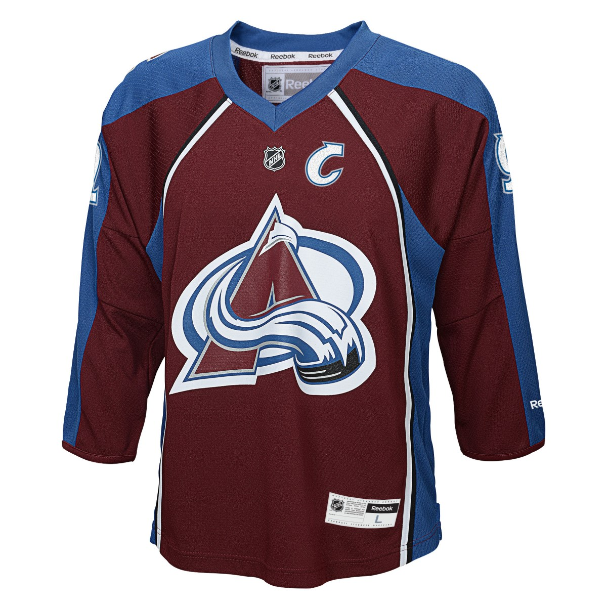 Gabriel Landeskog Colorado Avalanche Youth NHL Reebok Replica Jersey